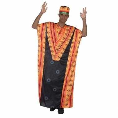 Afrikaanse kaftan verkleed verkleedkleding voor heren