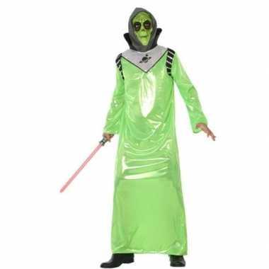Alien verkleed verkleedkleding voor volwassenen