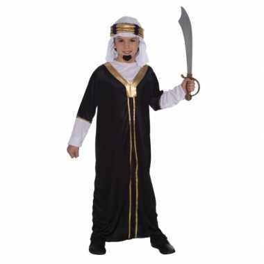 Arabieren verkleedkleding inclusief hoofddoek voor kinderen