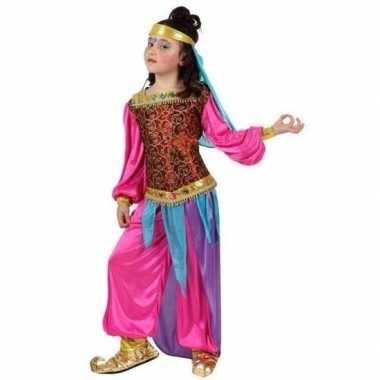 Arabische buikdanseres suheda verkleed verkleedkleding voor meisjes