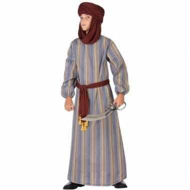 Arabische strijder ali verkleed verkleedkleding/gewaad voor jongens