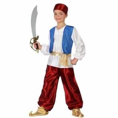 Arabische strijder badir verkleedkleding voor jongens