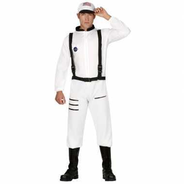 Astronauten/ruimtevaarders verkleed pak/verkleedkleding voor heren