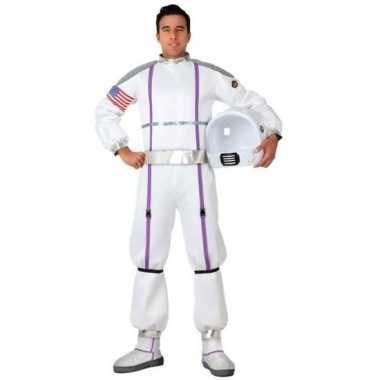 Astronauten verkleed pak/verkleedkleding voor heren