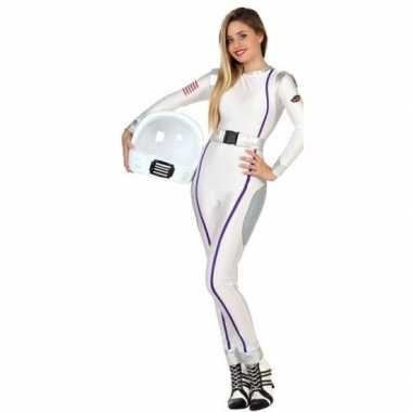 Astronauten verkleed verkleedkleding/verkleedkleding voor dames