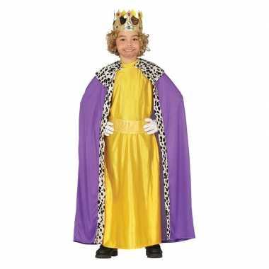 Balthasar drie koningen/wijzen kerst verkleed verkleedkleding