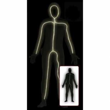 Blacklight verkleedkleding voor volwassenen