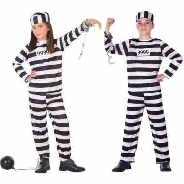 Boef/boeven verkleed pak/verkleedkleding voor kinderen
