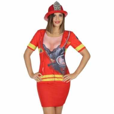 Brandweer verkleedkleding voor dames