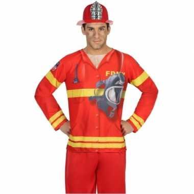 Brandweer verkleedkleding voor heren