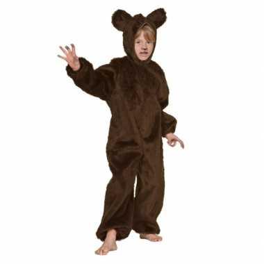 Bruin beren verkleedkleding voor kinderen