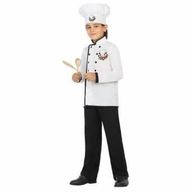 Chef kok verkleed verkleedkleding voor jongens