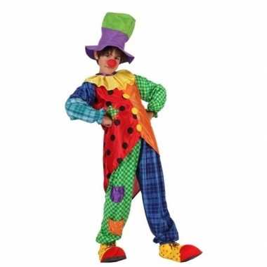 Clown stitches verkleedkleding voor jongens