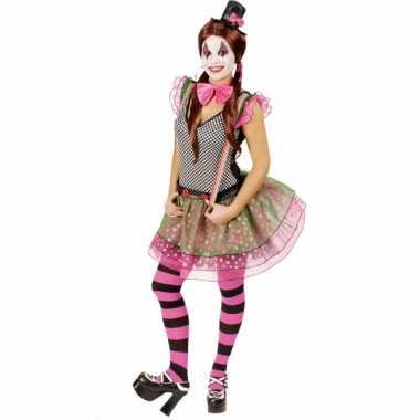 Clown verkleedkleding voor dames