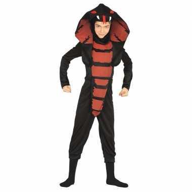 Cobra ninja slangen verkleedkleding voor jongens