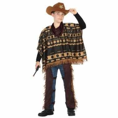 Cowboy/western pak/verkleed verkleedkleding voor jongens
