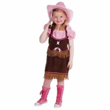 Cowgirl verkleedkleding meiden