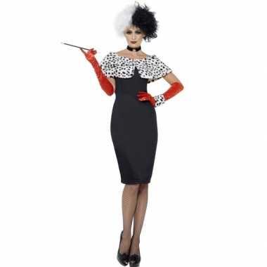 Cruella verkleedkleding voor dames