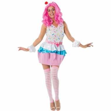 Cupcakejes verkleedkleding voor dames