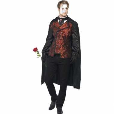 Dark opera verkleedkleding voor heren