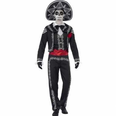 Day of the dead senor bones verkleedkleding