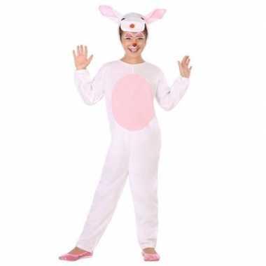 Dierenpak konijn/haas verkleed verkleedkleding voor kinderen