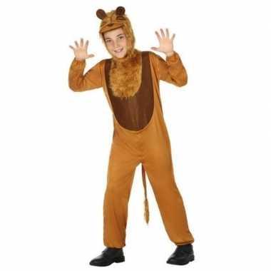 Dierenpak leeuw/leeuwen verkleed verkleedkleding voor kinderen
