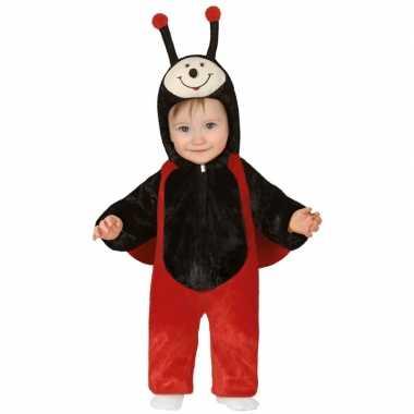 Dierenpak lieveheersbeestje verkleedkleding voor peuters18 24 maanden