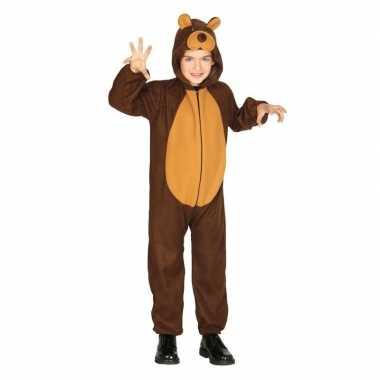 Dierenpak verkleed verkleedkleding beer voor kinderen