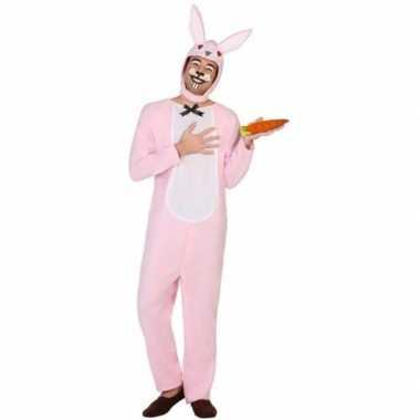 Dierenpak verkleed verkleedkleding paashaas/konijn voor volwassenen