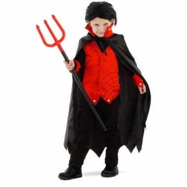 Dracula/vampier verkleed verkleedkleding met cape voor kinderen