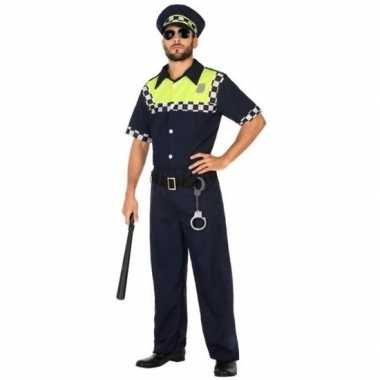 Engelse politie verkleed pak/verkleedkleding voor volwassenen
