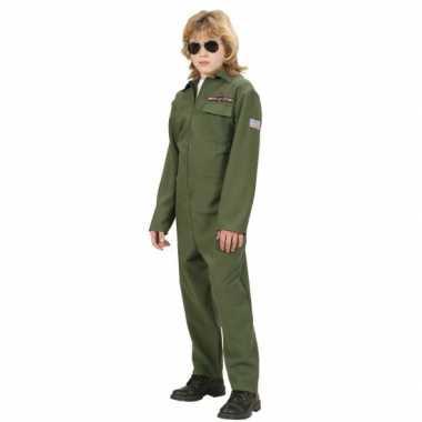F 16 piloot verkleedkleding kinderen