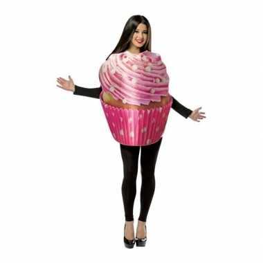 Feest cupcake verkleedverkleedkleding voor volwassenen