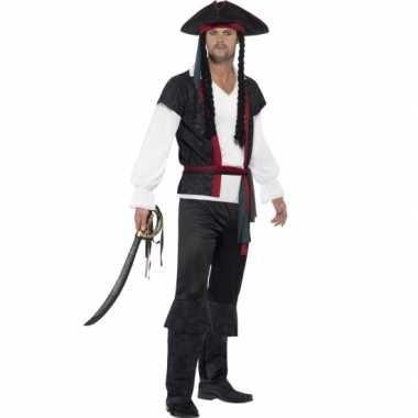 Feest piraat verkleedverkleedkleding voor heren