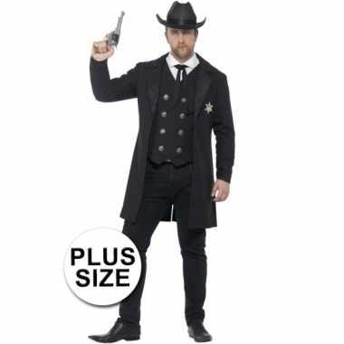 Feest sheriff verkleedverkleedkleding voor heren
