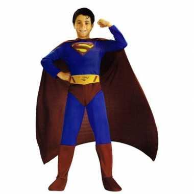 Feest superman verkleedkleding jongens