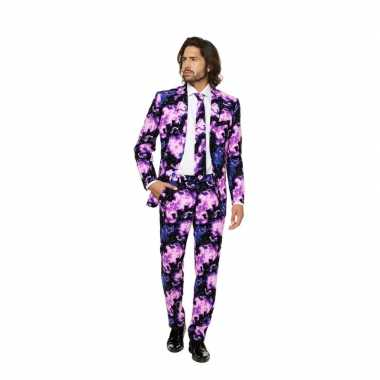 Feest verkleedkleding met galaxy print