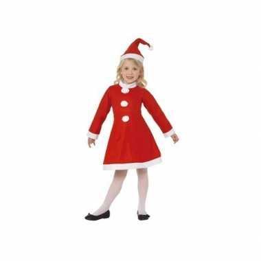 Feestelijke kerst verkleedkleding voor meisjes