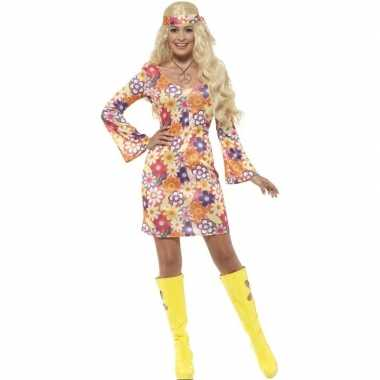 Flower power hippie dames sixties verkleedkleding