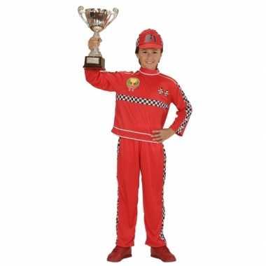 Formule 1 coureur verkleedkleding voor kinderen