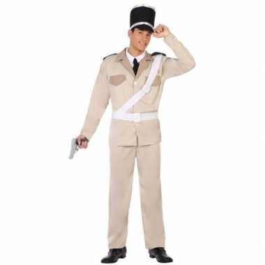 Franse gendarmerie/politie verkleed pak/verkleedkleding voor volwasse