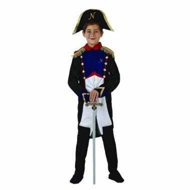Franse generaal napoleon verkleedkleding voor jongens