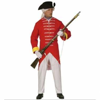 Franse revolutie verkleedkleding rood