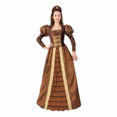 Geschiedenis middeleeuwse prinses damesverkleedkleding
