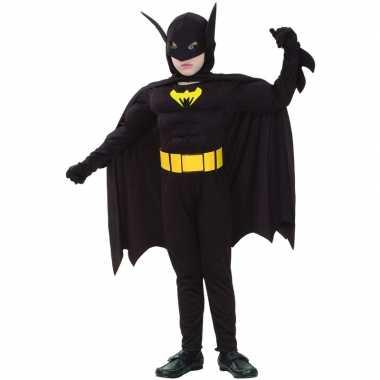Gespierde vleermuis superheld kinder verkleedkleding