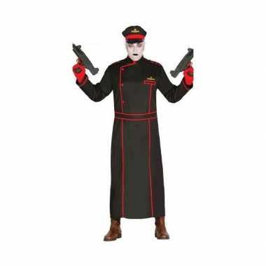 Gestapo verkleedverkleedkleding in het zwart