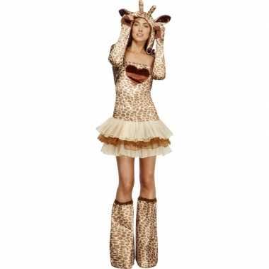 Giraf verkleedverkleedkleding voor dames