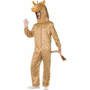 Giraffe verkleedkleding voor volwassenen