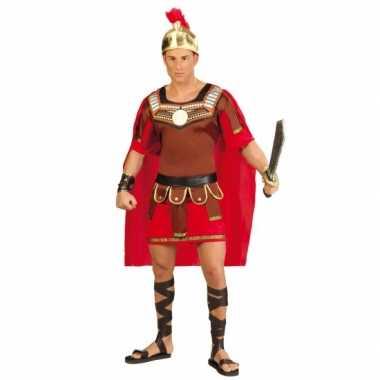 Gladiator verkleedkleding met helm voor heren